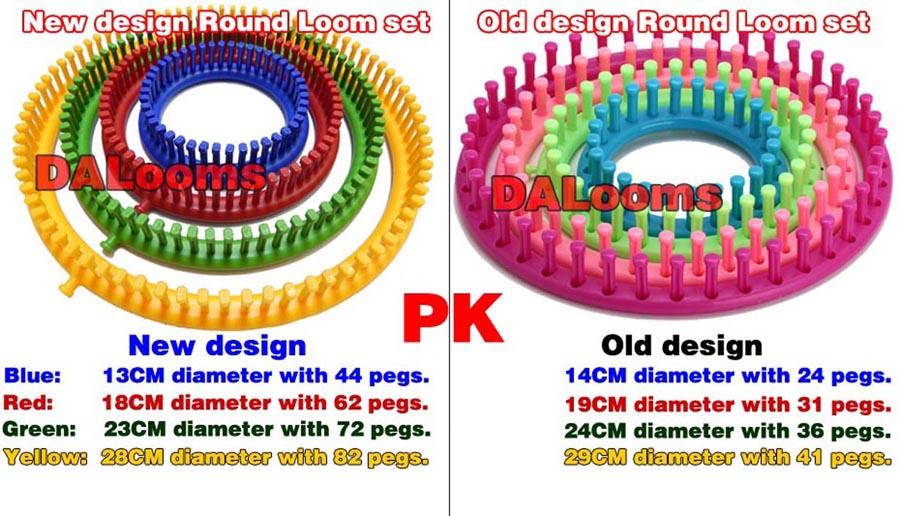 New Design Round Loom Set Manufacturer Wholesaler Of Knitting