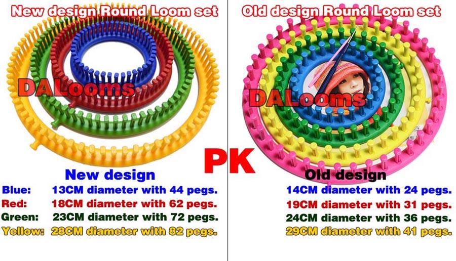 Round Knitting Loom Set Italiano : New design round loom set « manufacturer wholesaler of